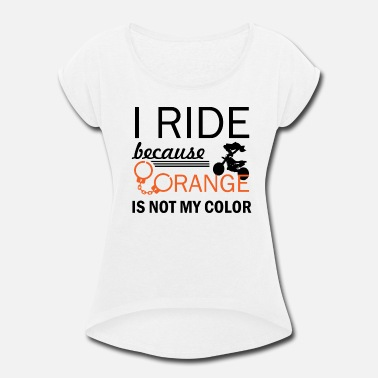 Motor Cross motor cross - Women's Roll Cuff T-Shirt