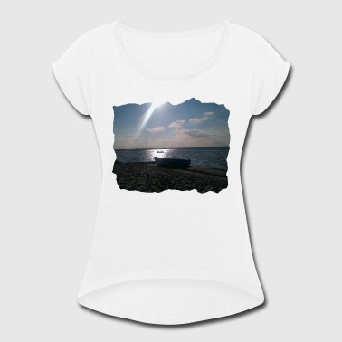 summer3 - Women's Roll Cuff T-Shirt