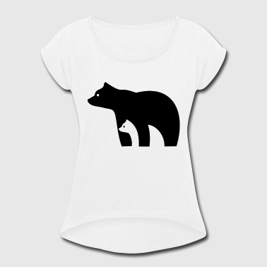 Ursa Major Bears - Women's Roll Cuff T-Shirt