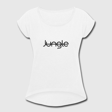 Jungle - Women's Roll Cuff T-Shirt