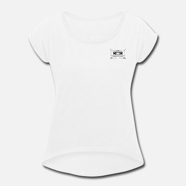 Yanks. Tape - Women's Roll Cuff T-Shirt