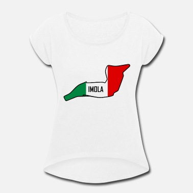 Race Circuit Imola Circuit - Women's Roll Cuff T-Shirt