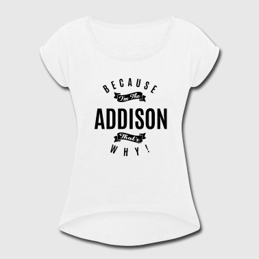 ADDISON - Women's Roll Cuff T-Shirt