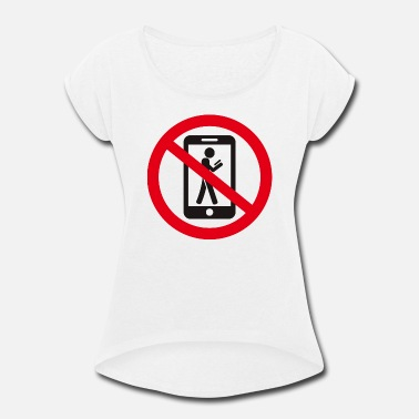 Prohibited the prohibition - Women's Rolled Sleeve T-Shirt