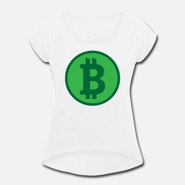 Cryptocurrency Cryptocurrency - Women's Rolled Sleeve T-Shirt