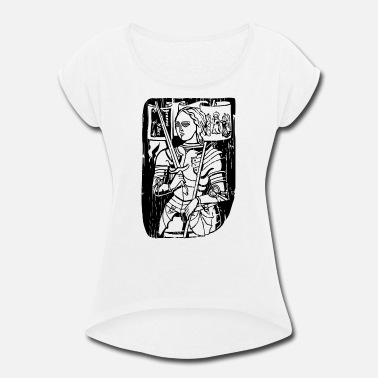 Arc Joan Of Arc - Women's Roll Cuff T-Shirt