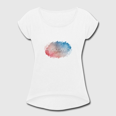 Auckland - Women's Roll Cuff T-Shirt