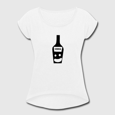 Saus Vodka - Women's Roll Cuff T-Shirt