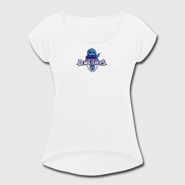 Clan Destroyers - Women's Roll Cuff T-Shirt