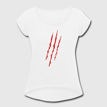scratch - Women's Roll Cuff T-Shirt