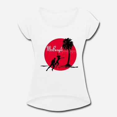 Mr. Bungle California (Mr. Bungle) - Women's Roll Cuff T-Shirt