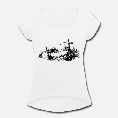 Grave Grave - Women's Rolled Sleeve T-Shirt