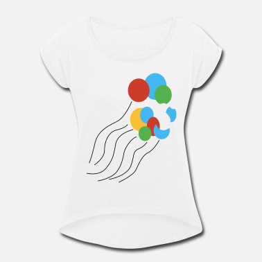 Free Birthday Colorful Balloons Floating T Shirts