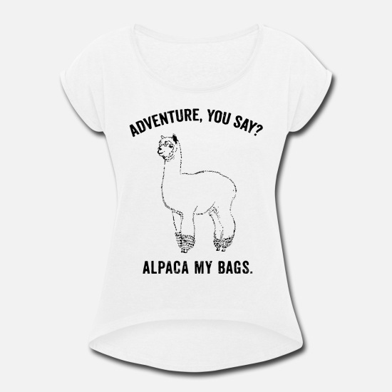 Joke Alpaca My Bags Kids T-Shirt Funny Adventure