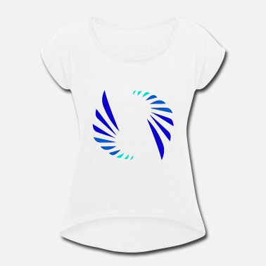 Cool Colors Cool Colors Logo - Women's Rolled Sleeve T-Shirt