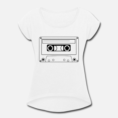 Tape Tape - Women's Rolled Sleeve T-Shirt