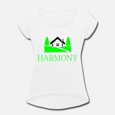 d0c899d2c Countryside home in the countryside - Women's Rolled Sleeve T-Shirt