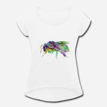 Bee - Women's Rolled Sleeve T-Shirt