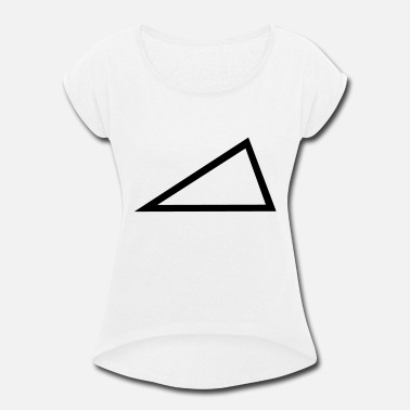 Triangle Triangle - Women's Rolled Sleeve T-Shirt