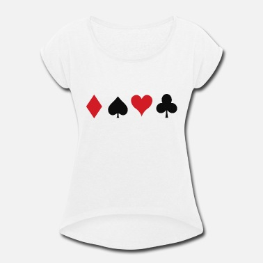 Cards Cards - Women's Rolled Sleeve T-Shirt