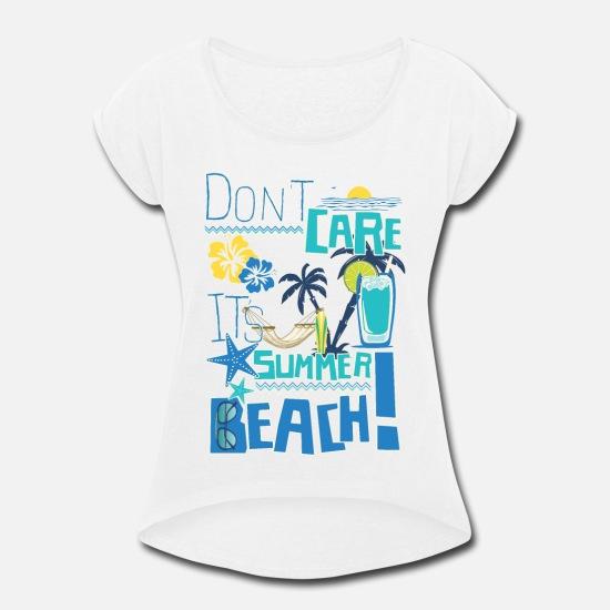 T Shirt Tank Top Shirt Surfer Beach Life Sun Summer Palm Trees Strand /& Palmen