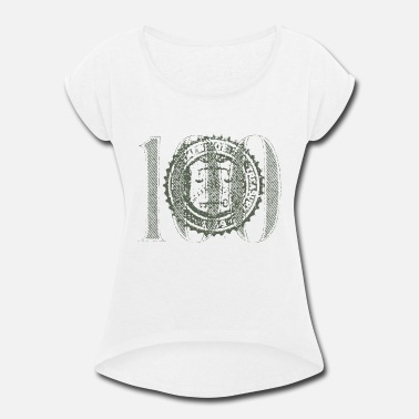 Us Seal Seal of US Treasury Mark - Women's Rolled Sleeve T-Shirt
