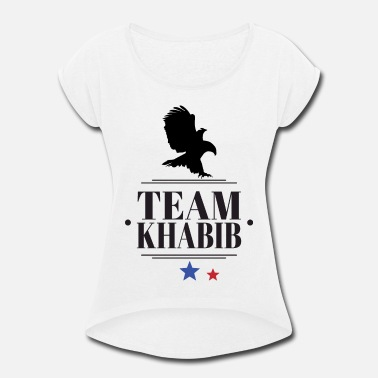 Sbw Team Khabib - Women's Rolled Sleeve T-Shirt