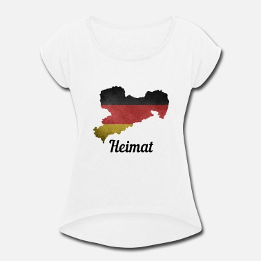 Saxony Saxony Germany Home - Women's Rolled Sleeve T-Shirt