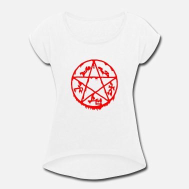 Pentacle Pentacle - Women's Roll Cuff T-Shirt