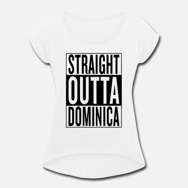 Dominica Dominica - Women's Rolled Sleeve T-Shirt
