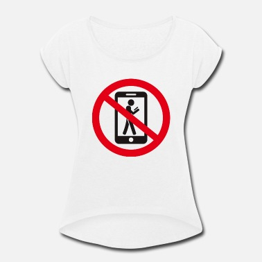 Prohibition the prohibition - Women's Rolled Sleeve T-Shirt
