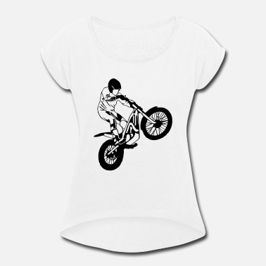 Trial Trial Racing - Women's Rolled Sleeve T-Shirt