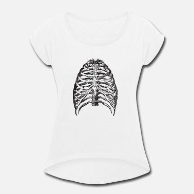 Bone Hunter Bones - Women's Roll Cuff T-Shirt