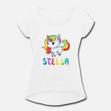 Stella Stella Unicorn - Women's Rolled Sleeve T-Shirt