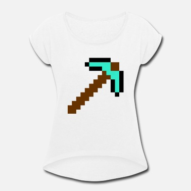 Pickaxe pickaxe - Women's Rolled Sleeve T-Shirt