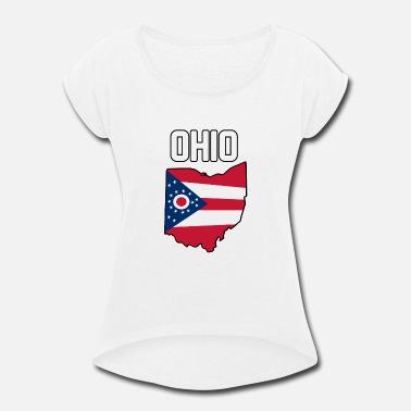 State State - Women's Rolled Sleeve T-Shirt