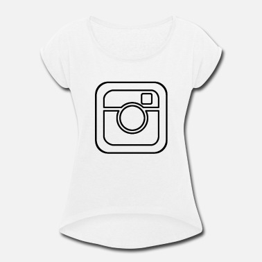 Instagram Instagram - Women's Rolled Sleeve T-Shirt