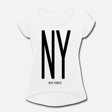 New Yorker NEW YORKER - Women's Roll Cuff T-Shirt