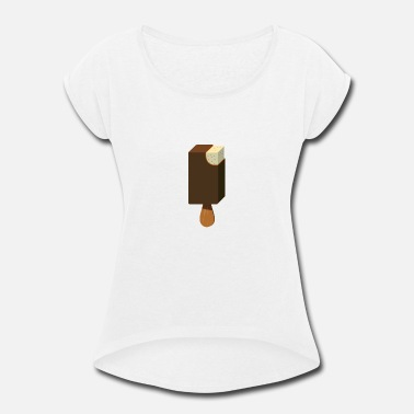 Ice Cream - Women's Rolled Sleeve T-Shirt