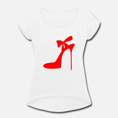Highheels Highheels - Shoes - Fashion - Women - Women's Rolled Sleeve T-Shirt