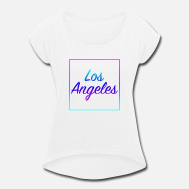Lo�c Los Angeles - Women's Roll Cuff T-Shirt