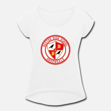 Emblem Witch High School emblem - Women's Rolled Sleeve T-Shirt