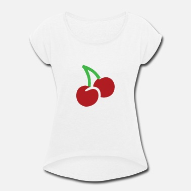 Cuisine Vegetarian cuisine - Women's Rolled Sleeve T-Shirt
