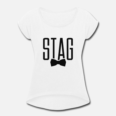 Stag Stag - Women's Rolled Sleeve T-Shirt