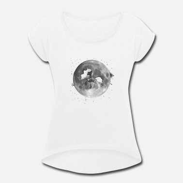 Mare The Mare in the Moon - Women's Rolled Sleeve T-Shirt