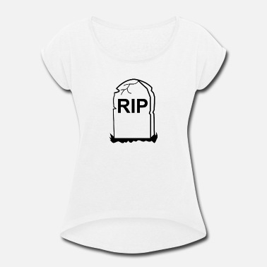 Gay Rip Rip - Women's Roll Cuff T-Shirt