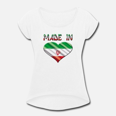 Iran Iran - Women's Roll Cuff T-Shirt