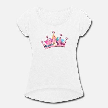 Barbie prices oof the house - Women's Roll Cuff T-Shirt
