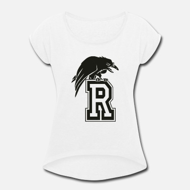 One Tree Hill Tree Hill Ravens - Women's Rolled Sleeve T-Shirt