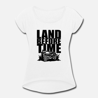 The Land Before Time Land before time - Women's Roll Cuff T-Shirt